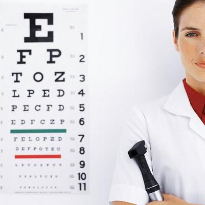 tablica okulistyczna Oczy jak o nie zadbać