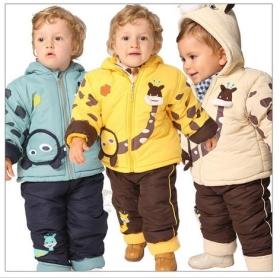 zimowe ubrania dziecięce typu kombinezon obr 3 Zimowe dziecięce ubrania wierzchnie